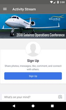 Solairus Operations Conference screenshot 1
