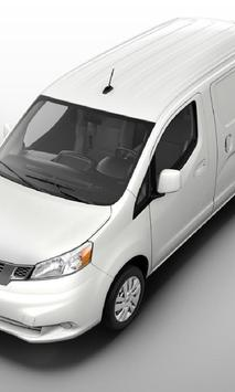 Wallpapers Nissan NV200 Trucks poster