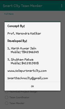 Smart City Team Member apk screenshot