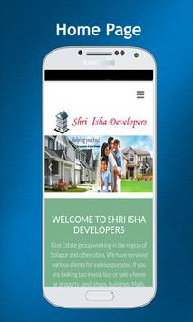 Shri Isha Developers apk screenshot