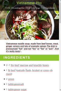 Vietnamese Pho screenshot 13