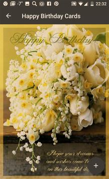 Social App Screenshot 2 Birthday Greeting Cards Flowers