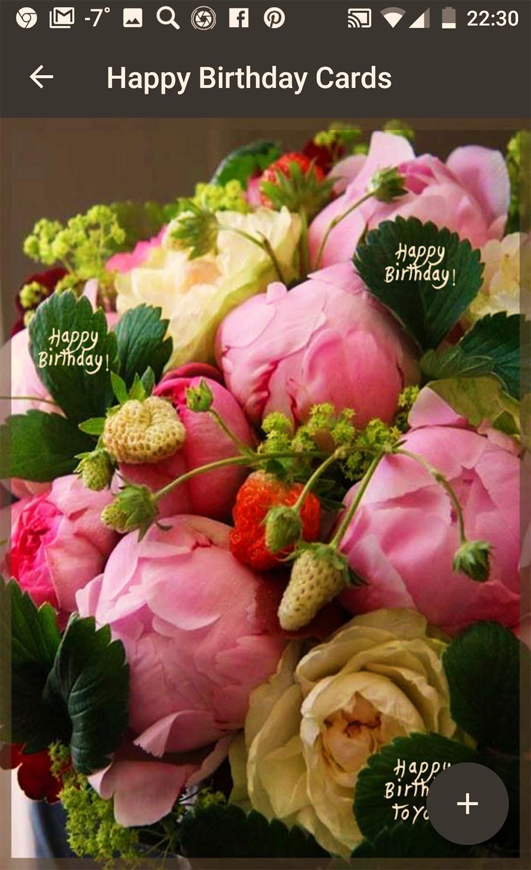 Social App Screenshot 1 Birthday Greeting Cards Flowers