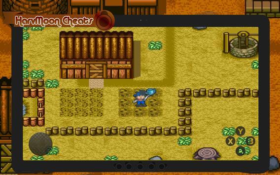 Cheats for Harvest Moon DS screenshot 2