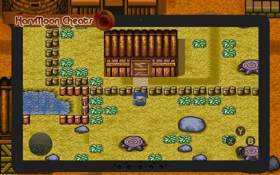 Cheats for Harvest Moon DS apk screenshot