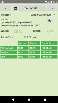 SOLAR DAY LENGTH apk screenshot
