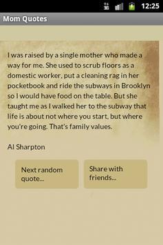 Mom Quotes apk screenshot