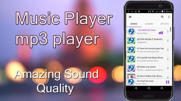 Music Player mp3 – Audio Player 2017 screenshot 3