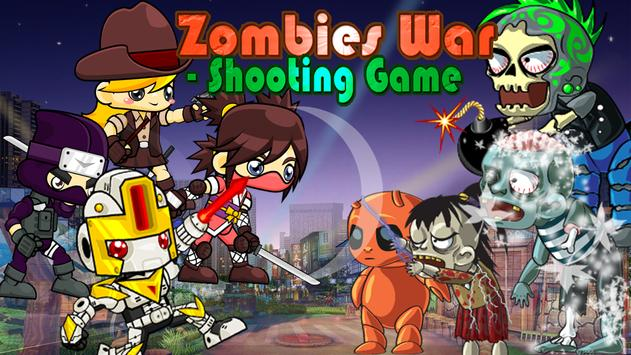 Zombies War - Shooting Game poster