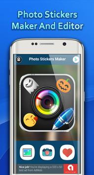 Stickers Photo Editor 2018 poster