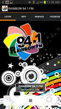 Rainbow 94.1 FM poster
