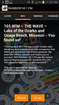 Rainbow 94.1 FM screenshot 1