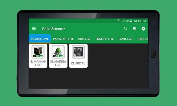Solid Streamz screenshot 5