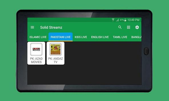 Solid Streamz screenshot 6