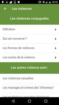 3919 VIOLENCES FEMMES INFO screenshot 5