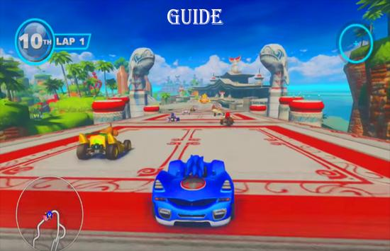 Tips For SONIC & ALL-STARS RACING TRANSFORMED poster