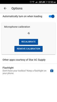 dB Meter by Star AC Supply apk screenshot