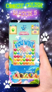 Cookie Crush Mania Match 3 screenshot 3