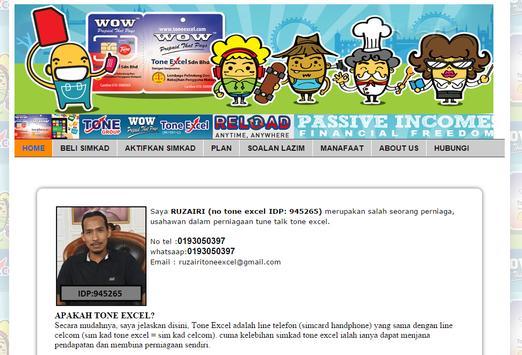 Jutawan Tone Excel apk screenshot
