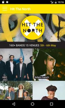 Hit The North poster
