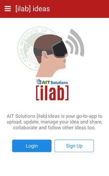 [ilab] ideas (Unreleased) poster