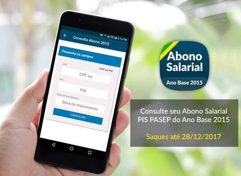 Consulta Abono Salarial 2015 poster
