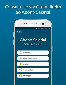 Consulta Abono Salarial 2015 screenshot 1
