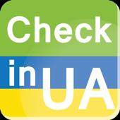 Check in Ukraine icon