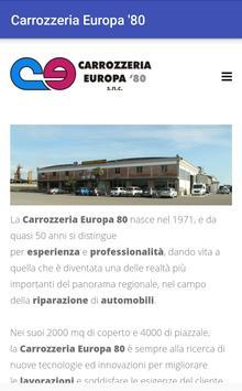 Carrozzeria Europa '80 screenshot 1
