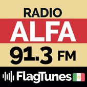 Radio Alfa 91.3 FM FlagTunes MX icon