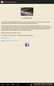 Mesón El Otro Lado apk screenshot