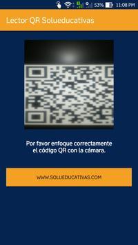 Lector QR Solueducativas تصوير الشاشة 1