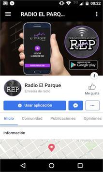 RADIO EL PARQUE screenshot 2