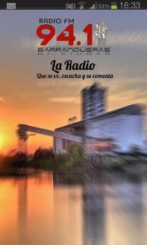 Barranqueras Mi Ciudad 94.1 poster