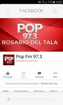 POP FM ROSARIO DEL TALA apk screenshot