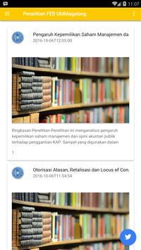 FEB UMMagelang apk screenshot