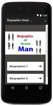 Biographies Great Men 2017 apk screenshot