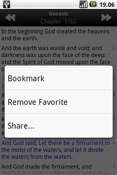 Holy Bible (ASV) apk screenshot