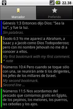 Santa Biblia RVA (Holy Bible) apk screenshot