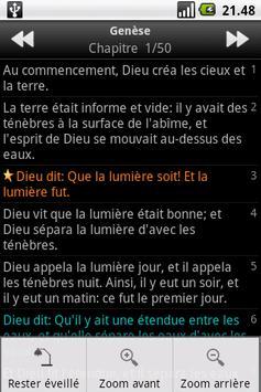 La Sainte Bible, Louis Segond apk screenshot
