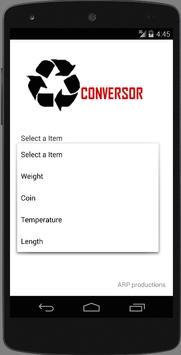 Conversor - Solvam apk screenshot
