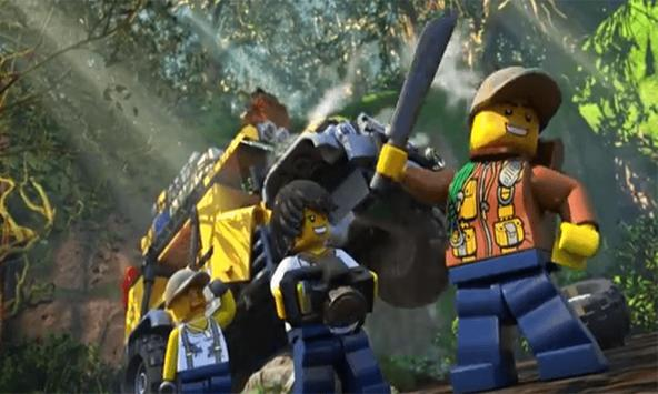 Solve LEGO City Junggle Advent apk screenshot