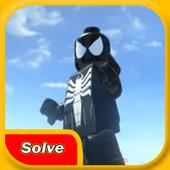 Solve LEGO Black Spider icon