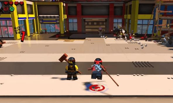 Solve LEGO Ninja poster