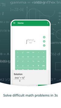 數學解算器與步驟和圖形計算器 截圖 1