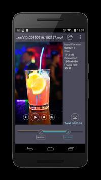 TriMP4 - Cut video for sharing apk screenshot