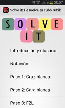 Solve It! Resuelve el Rubik poster