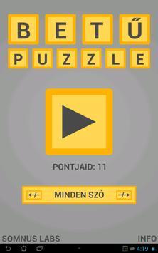 BetűPuzzle – Ki Tudod Rakni? screenshot 3