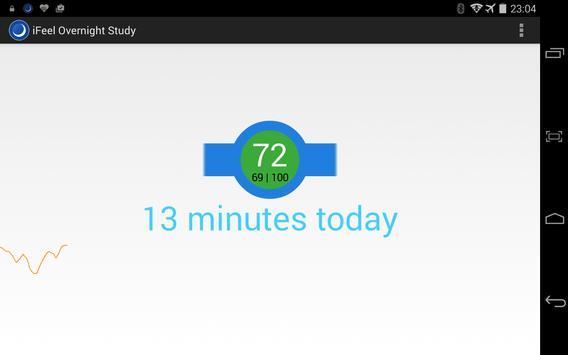 iFeel Clinical Trial Monitor screenshot 1