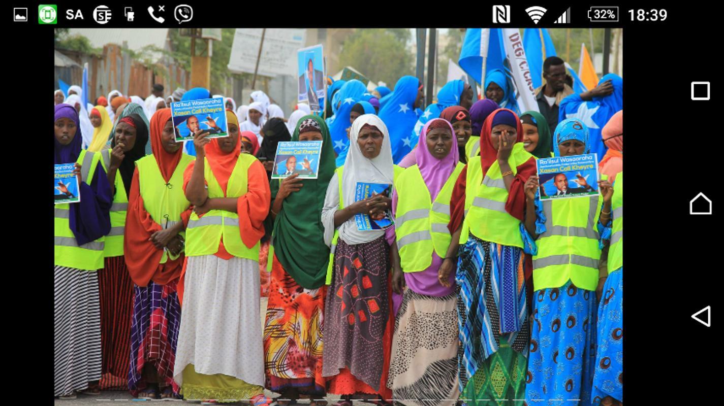 Somali All News Poster Screenshot 1